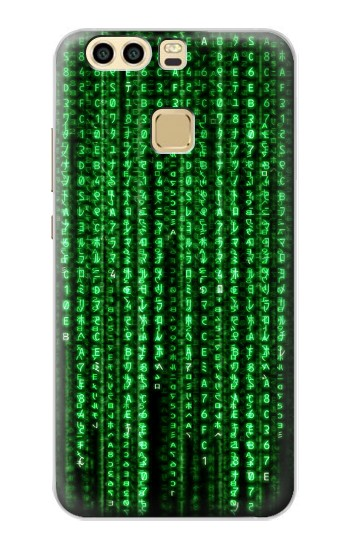 Printed Matrix Huawei P9 Case