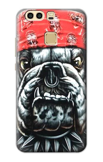 Printed Bulldog Punk Rock Huawei P9 Case