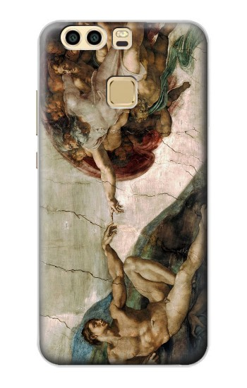 Printed Michelangelo The creation of Adam Huawei P9 Case