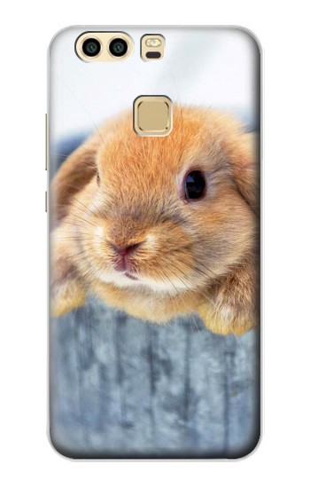 Printed Cute Rabbit Huawei P9 Case