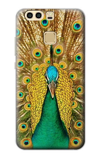 Printed Peacock Huawei P9 Case