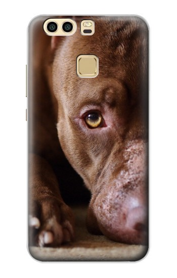 Printed PitBull Face Huawei P9 Case