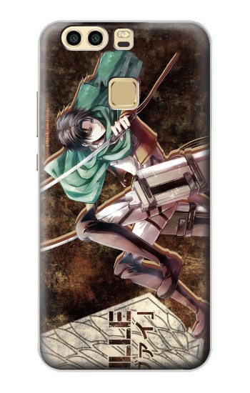Printed Attack on Titan Rivaille Huawei P9 Case