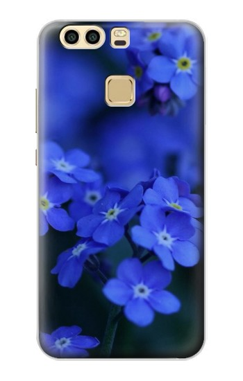 Printed Forget me not Huawei P9 Case