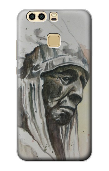 Printed Indian Chief Huawei P9 Case