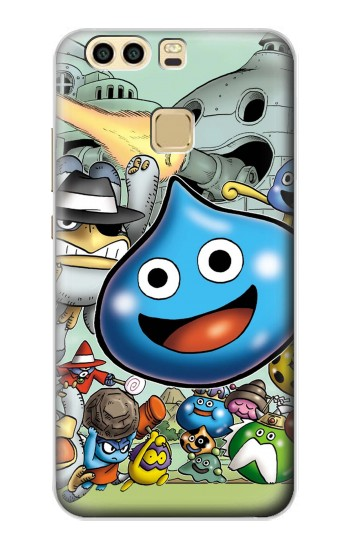 Printed Dragon Quest Slime Monster Huawei P9 Case