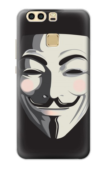 Printed Anonymous V Mask Guy Fawkes Huawei P9 Case