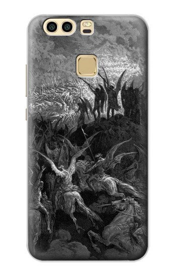 Printed Gustave Dore Paradise Lost Huawei P9 Case