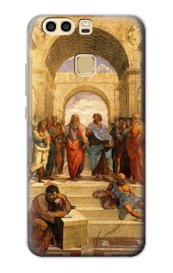 Printed Raphael\'s School of Athens Huawei P9 Case