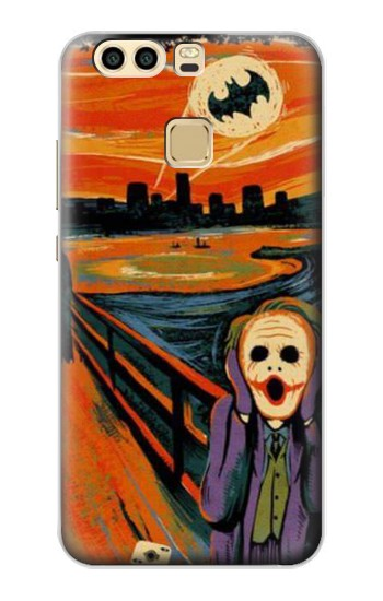 Printed Scream Joker Batman Huawei P9 Case