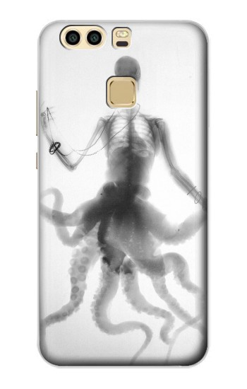 Printed Skull Octopus X-ray Huawei P9 Case