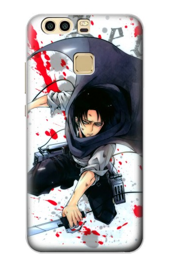 Printed Attack on Titan Rivaille Levi Huawei P9 Case