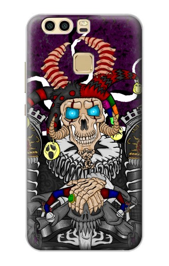 Printed Skull The Jester Huawei P9 Case