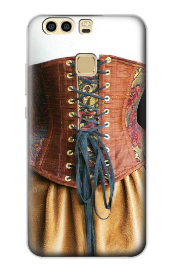 Printed Steampunk Underbust Corset Huawei P9 Case