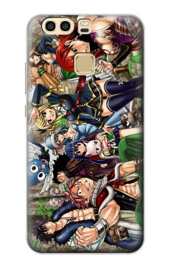 Printed Fairy Tail Guild Members Huawei P9 Case