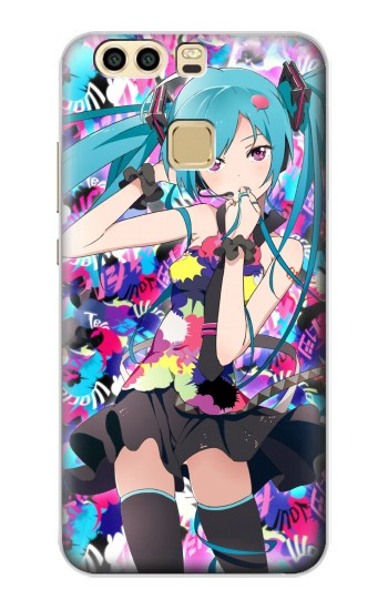 Printed Vocaloid Hatsune Miku Tell Your World Huawei P9 Case