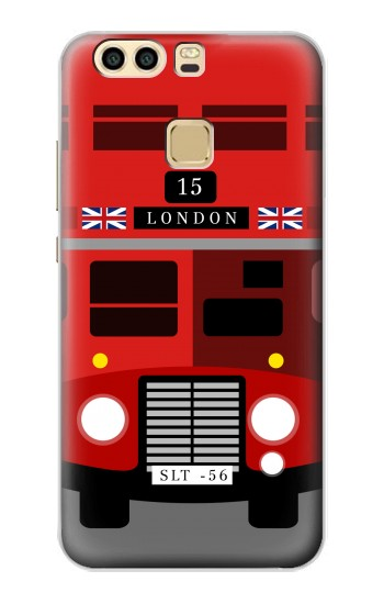 Printed England British Double Decker Bus Minimalist Huawei P9 Case