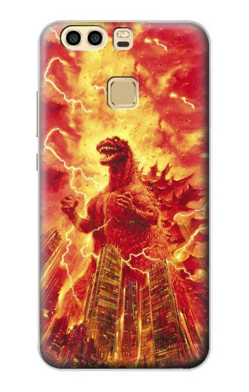 Printed Godzilla The Legend Is Reborn Huawei P9 Case