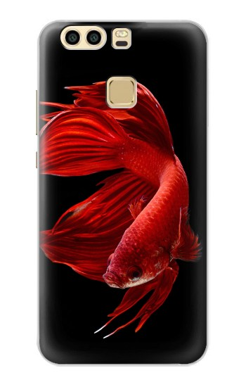 Printed Red Siamese Fighting Fish Huawei P9 Case