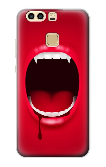Printed Vampire Mouth Huawei P9 Case