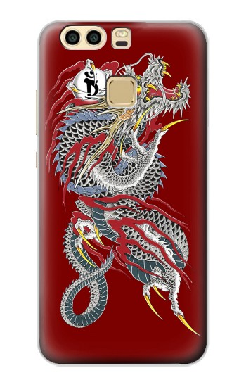 Printed Yakuza Dragon Tattoo Huawei P9 Case