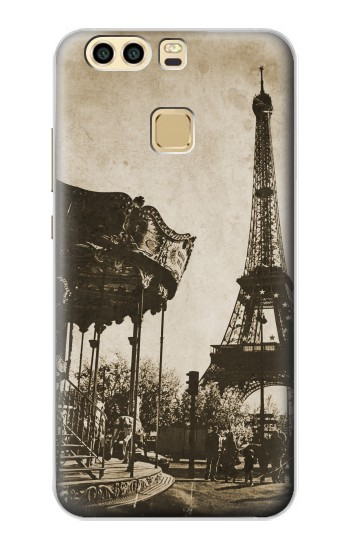 Printed Eiffel Tower Vintage Paris Huawei P9 Case