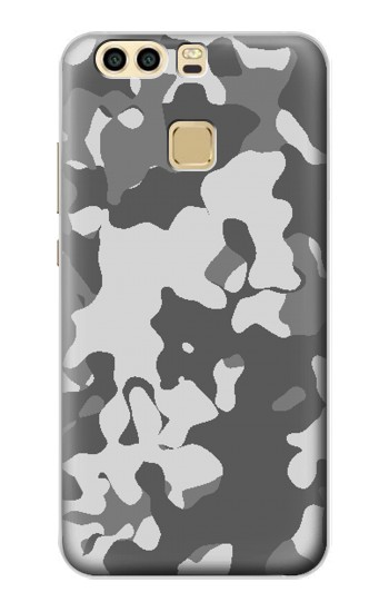 Printed Gray Camo Camouflage Graphic Printed Huawei P9 Case