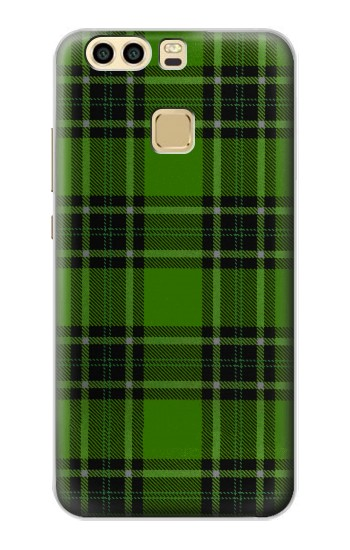 Printed Tartan Green Pattern Huawei P9 Case