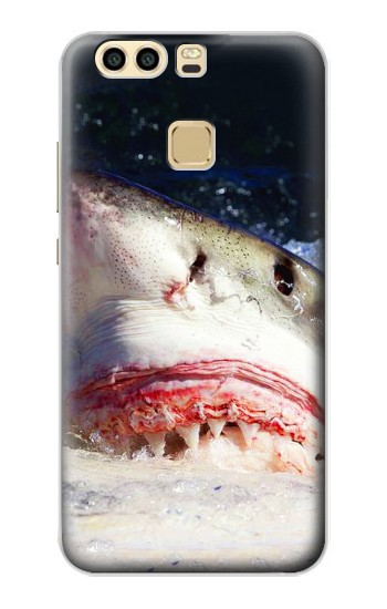 Printed White Shark Huawei P9 Case