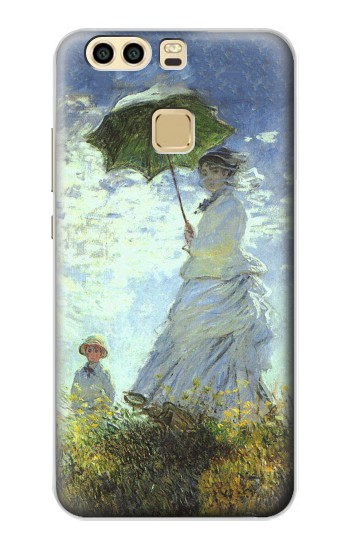 Printed Claude Monet Woman with a Parasol Huawei P9 Case