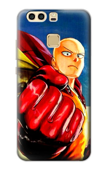 Printed Saitama One Punch Man Huawei P9 Case