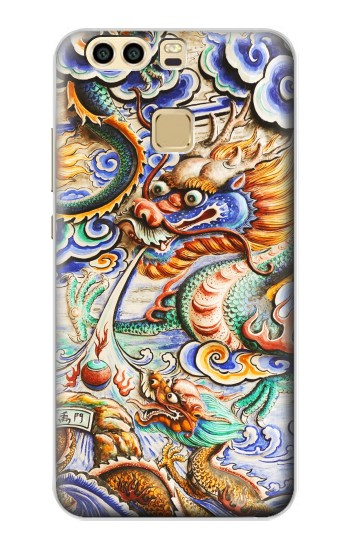 Printed Traditional Chinese Dragon Art Huawei P9 Case
