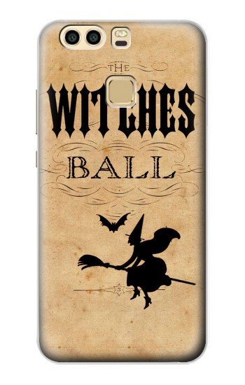 Printed Vintage Halloween The Witches Ball Huawei P9 Case
