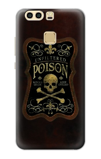 Printed Unfiltered Poison Vintage Glass Bottle Huawei P9 Case