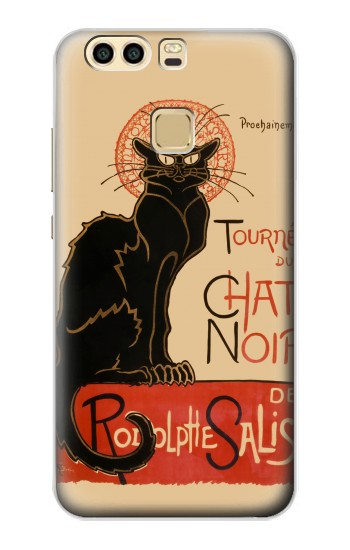 Printed Chat Noir The Black Cat Huawei P9 Case