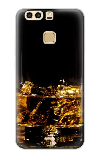Printed Ice Whiskey Glass Huawei P9 Case
