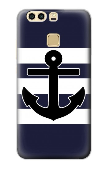 Printed Anchor Navy Huawei P9 Case