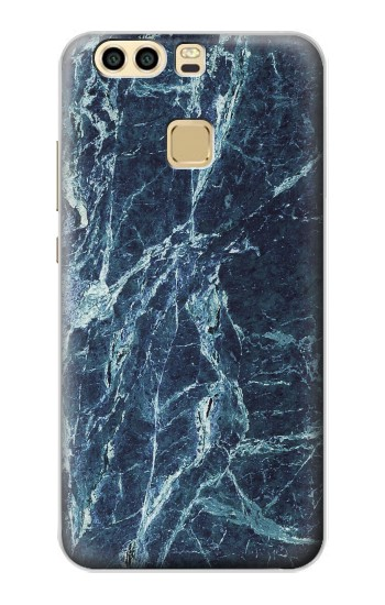 Printed Light Blue Marble Stone Texture Printed Huawei P9 Case