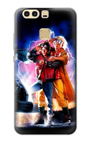 Printed Back to the Future Huawei P9 Case