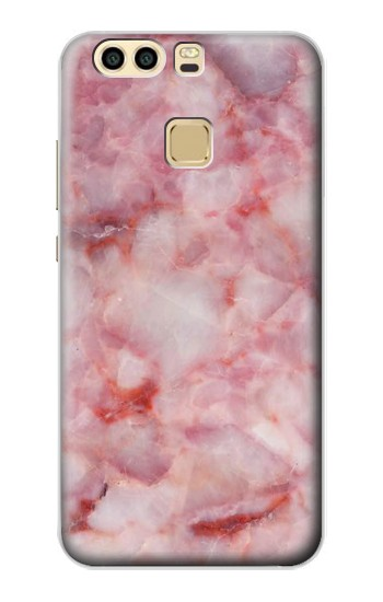 Printed Pink Marble Texture Huawei P9 Case