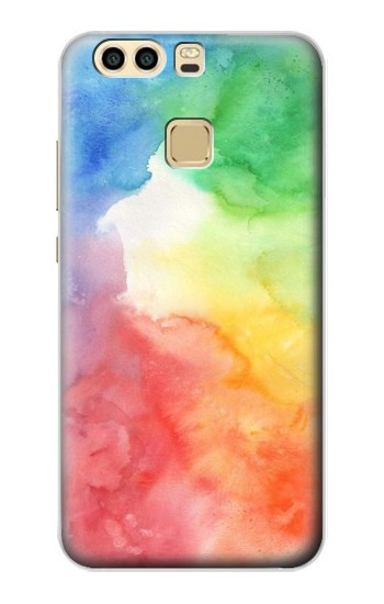 Printed Colorful Watercolor Huawei P9 Case