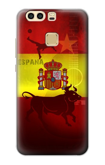 Printed Spain Football Flag Huawei P9 Case