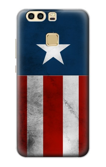 Printed Captain Star Flag of America Huawei P9 Case