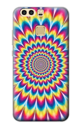 Printed Colorful Psychedelic Huawei P9 Case