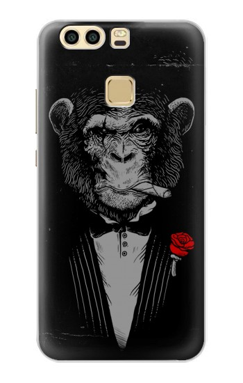 Printed Funny Monkey God Father Huawei P9 Case