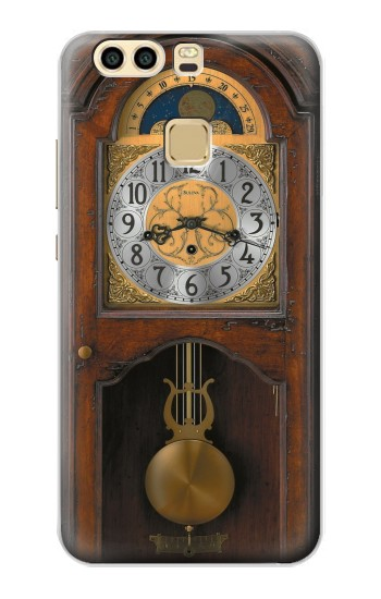 Printed Grandfather Clock Antique Wall Clock Huawei P9 Case