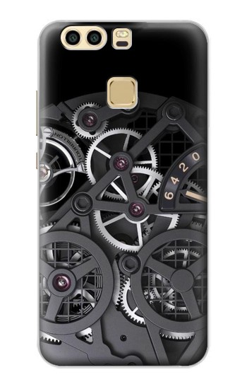 Printed Inside Watch Black Huawei P9 Case
