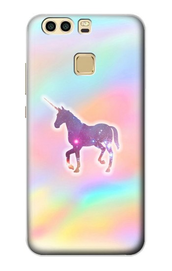 Printed Rainbow Unicorn Huawei P9 Case