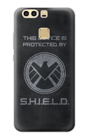 Printed This Device is Protected by Shield Huawei P9 Case