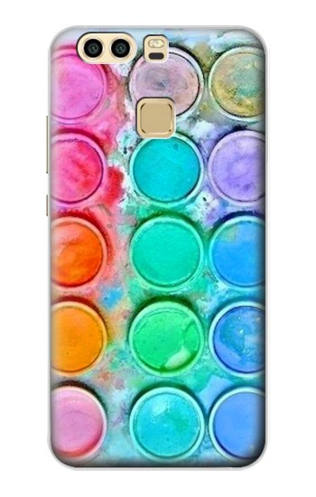 Printed Watercolor Mixing Huawei P9 Case